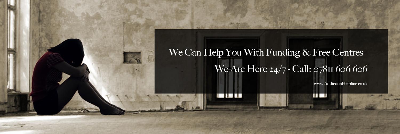 addiction helpline funding